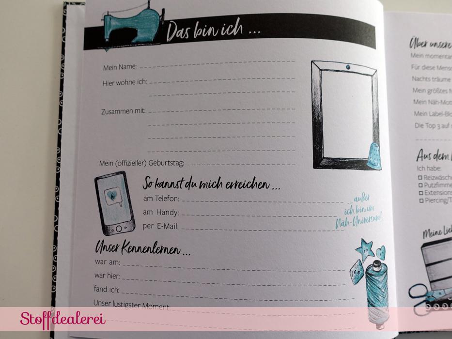 Nähfreundinnen-Buch