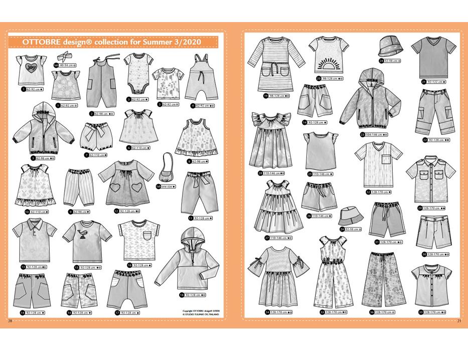 Ottobre Design – Kids Nr.3 / 2020