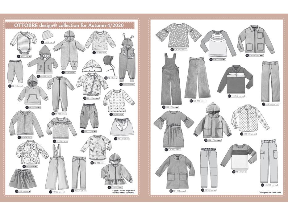 Ottobre Design – Kids Nr.4 / 2020