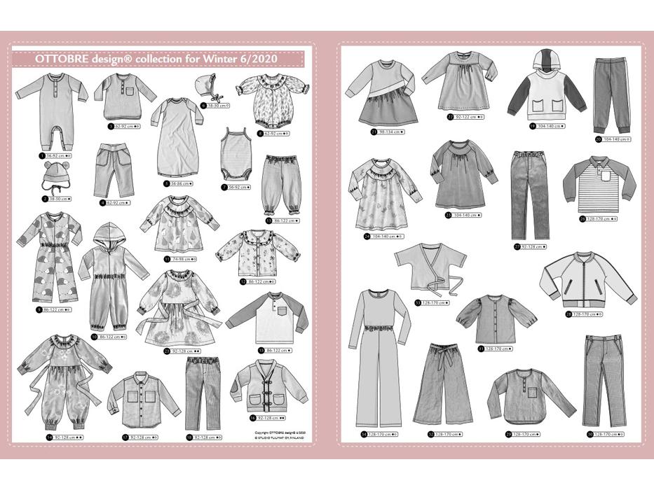 Ottobre Design – Kids Nr.6 / 2020