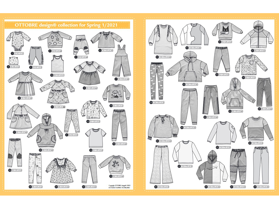Ottobre Design – Kids Nr.1 / 2021