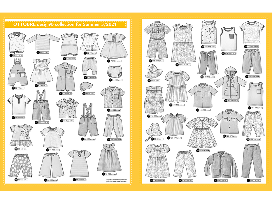 Ottobre Design – Kids Nr.3 / 2021