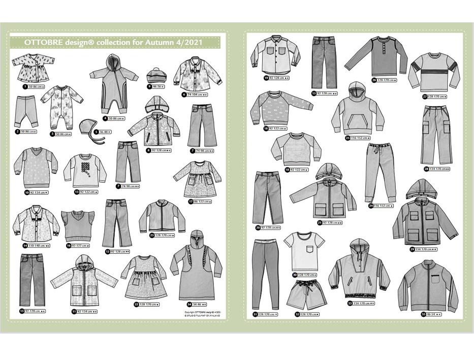 Ottobre Design – Kids Nr.4 / 2021