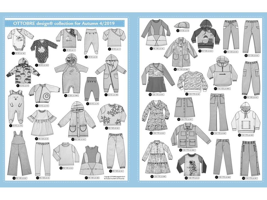 Ottobre Design – Kids Nr.4 / 2019