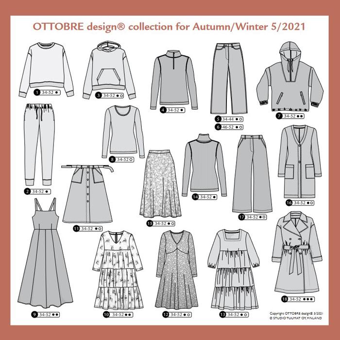 Ottobre Design – Woman Nr.5 / 2021