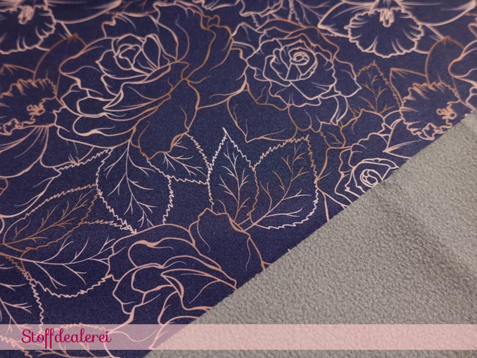"Stretch-NANO-Softshell ""Fiete"" Blumen"