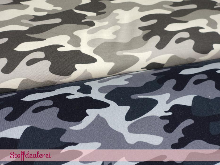 "Sweat ""Camouflage"" blau"